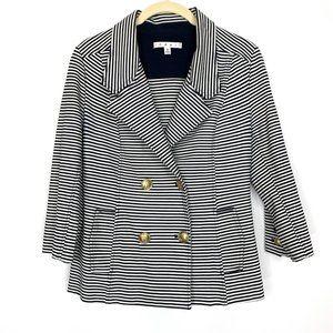 CAbi Nautical Life  Striped Blazer Jacket